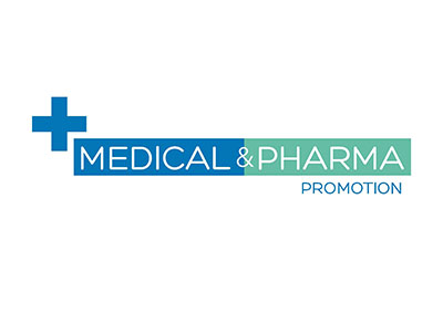 Logo medical pharma promotion